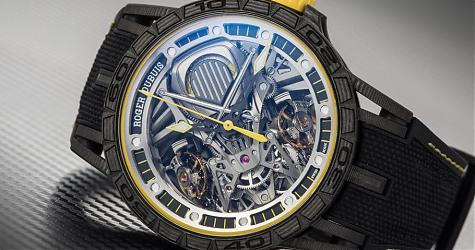 賞錶-為賽車世界而生 羅杰杜彼Excalibur Aventador S腕錶
