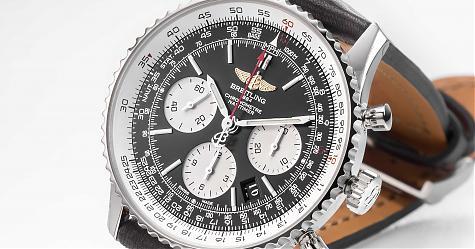 擁有不動人氣的飛行錶 BREITLING Navitimer 01