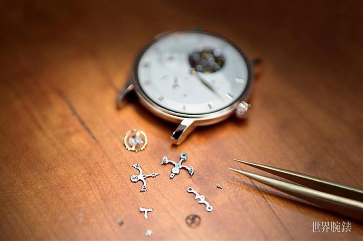 机芯零件常见的装饰工艺
