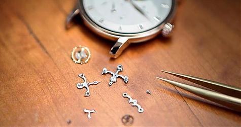 機芯零件常見的裝飾工藝