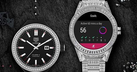 華麗度簡直爆表 TAG HEUER Connected Modular 45全鑽智能腕錶