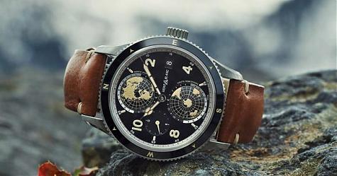 SIHH 2018:南北半球盡收方寸間 萬寶龍1858系列世界時間Geosphere腕錶