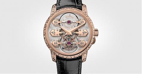 SIHH 2018:集品牌工藝一身 芝柏表La Esmeralda永恆祕密陀飛輪腕錶