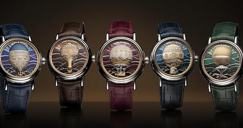 現場看更震撼 江詩丹頓Métiers d'Art Les Aérostiers熱氣球腕錶