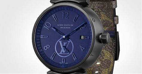 錶帶也是一個重要的元素 路易威登Tambour Monogram Pacific