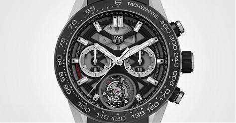 這價位不能要求得更多了 泰格豪雅Carrera Heuer-02T陀飛輪計時碼錶