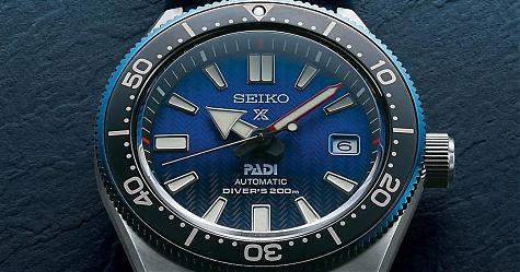 藍得很有層次感 SEIKO Prospex PADI特別版