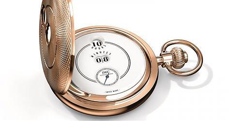 經典的原味 IWC 「致敬波威柏」150週年特別版懷錶
