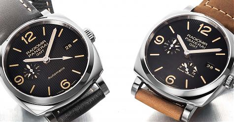 經典中的創新元素 PANERAI Radiomir 1940兩地時間腕錶