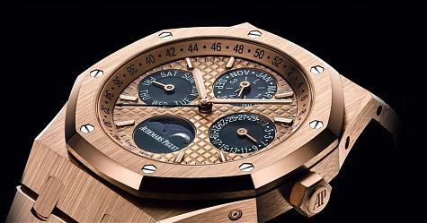 熟悉中的新鮮感 愛彼皇家橡樹萬年曆腕錶