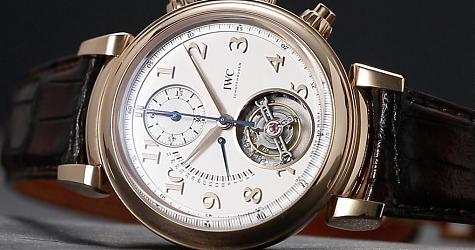 賞錶-新生代達文西的工藝指標 IWC達文西逆跳陀飛輪計時碼錶