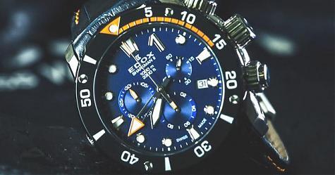 見證冰人締造新紀錄 EDOX Sharkman II限量腕錶
