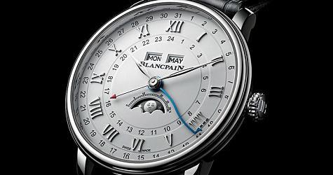 好用更實用 寶鉑Villeret兩地時間全曆月相腕錶