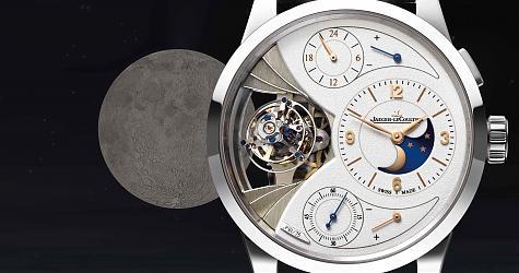 這月相準到一個匪夷所思 積家Duomètre Sphérotourbillon Moon