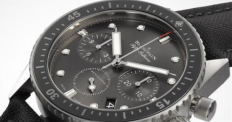 斯文路線的經典潛水錶 寶珀Fifty Fathoms Bathyscaphe飛返計時碼錶