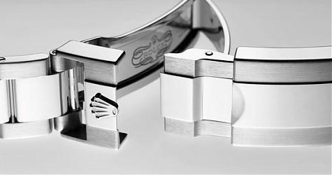 勞力士蠔式保險扣跟一般鍊帶金屬錶扣有什麼不一樣