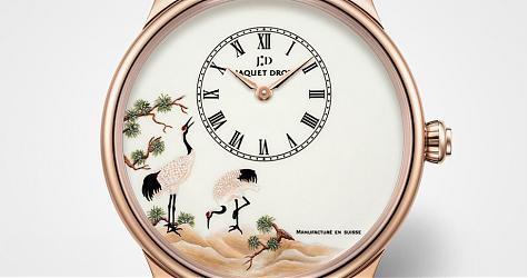 畫筆下的中國風 雅克德羅Petite Heure Minute微繪腕錶