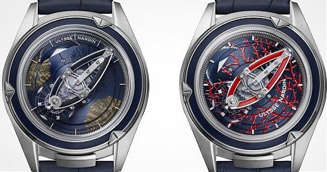 裝飾工藝的新想法 雅典錶奇想創見腕錶珊瑚礁限量版