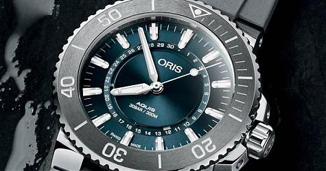 水資源保育需要大家關注 ORIS Aquis生命之源腕錶