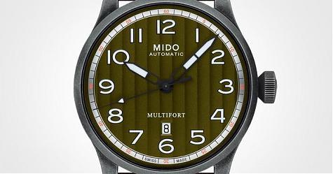 粗獷軍風愈看愈喜歡 MIDO Multifort系列自動腕錶