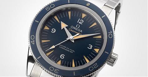 藍面加上復刻等於受歡迎 OMEGA Seamaster 300