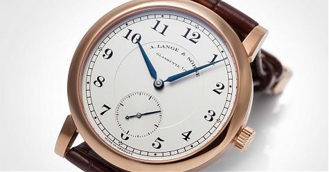 戴這只一看就是內行人 朗格1815腕錶