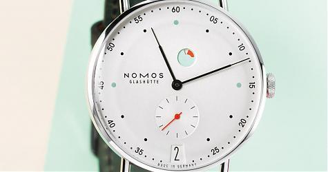 简单单也可以表现时尚态度 NOMOS Metro腕表