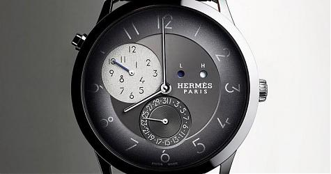 浪漫派也有務實的一面 愛馬仕Slim d'Hermès GMT