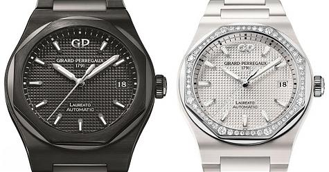 黑白配的浪漫 芝柏表Laureato陶瓷腕錶