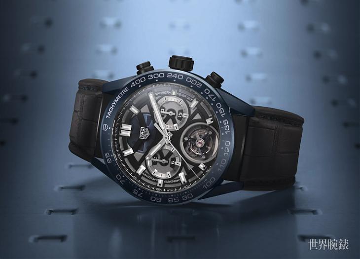 Basel 2018:這天文台認證好難得一見 TAG HEUER Carrera陀飛輪精密計時碼錶