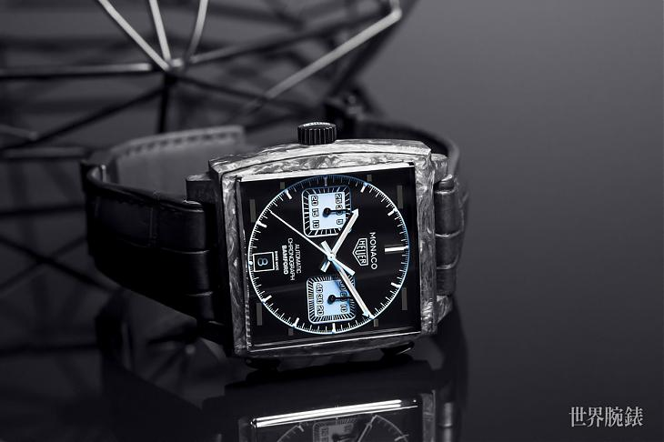 Basel 2018:名正言順的改錶 TAG HEUER Monaco Bamford腕錶