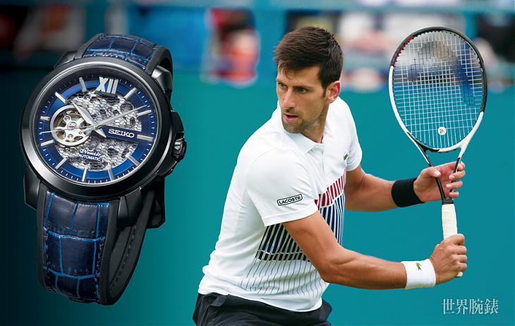 斯文與運動路線的混搭風 SEIKO Premier諾瓦克.喬科維奇腕錶