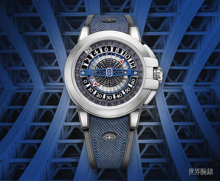 越來越精彩!HARRY WINSTON Project Z12