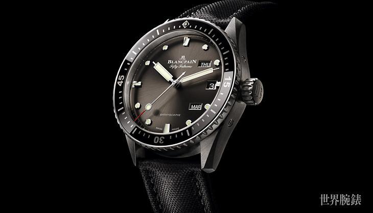 從深海到岸上  寶珀五十噚深潛器年曆腕錶