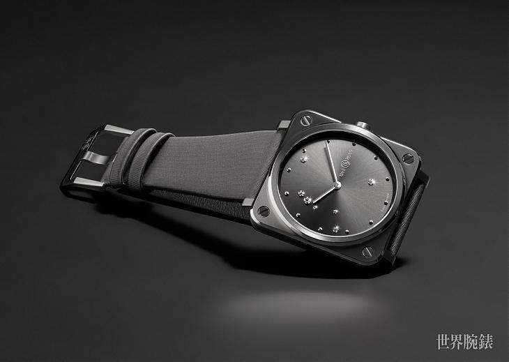 面盤上的鑽石可不是隨便鑲的 柏萊士BR S Diamond Eagle腕錶