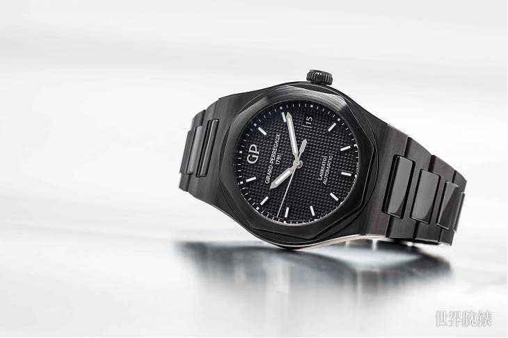 就是和金屬的質感不一樣 芝柏Laureato陶瓷腕錶