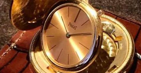 錶友分享:經典老錶透透氣——伯爵金幣錶