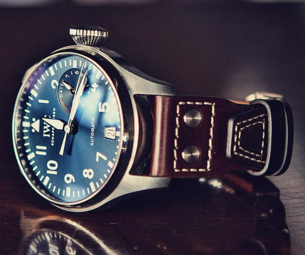 IWC手錶有哪些錶帶類型