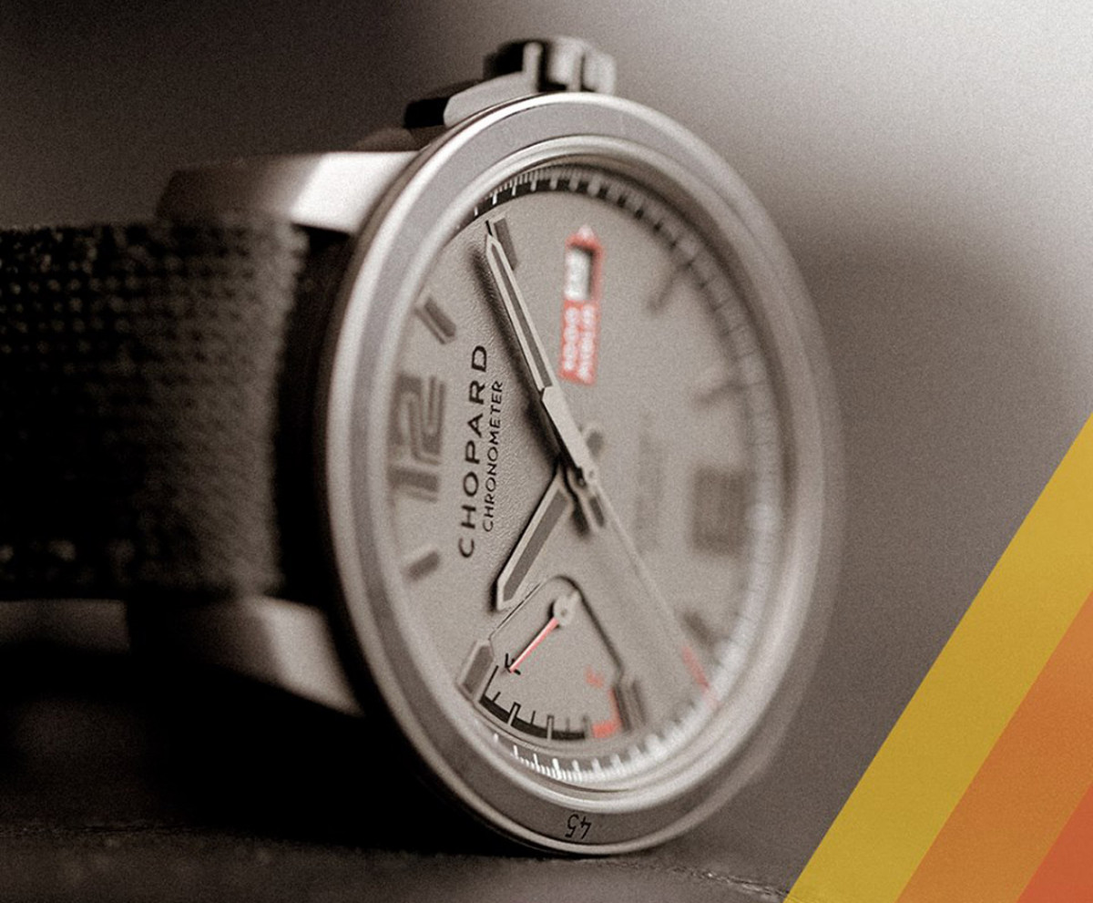 油表设计很有梗 萧邦Mille Miglia GTS腕表