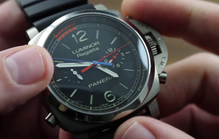 沛納海Luminor系列的帆船錶倒數功能要怎麼操作?