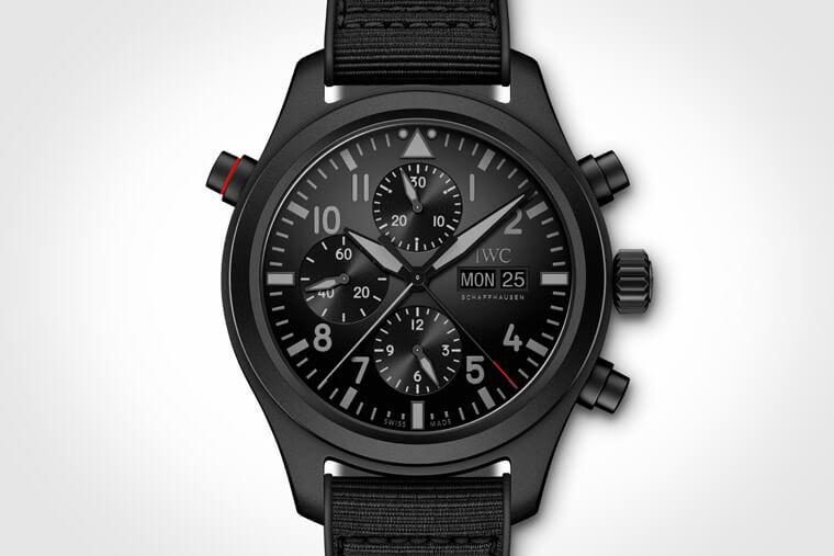 有一種黑叫做瓷化鈦金屬 IWC Top Gun海軍空戰部隊系列腕錶