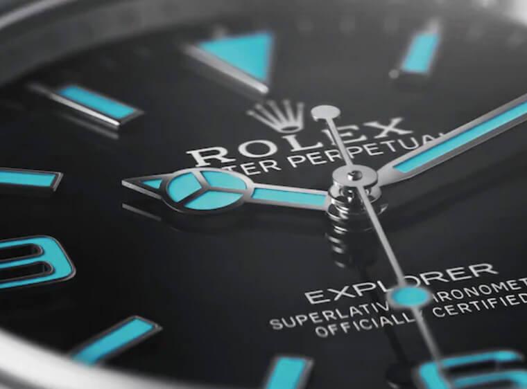 入门级劳力士运动表 ROLEX Explorer 214270