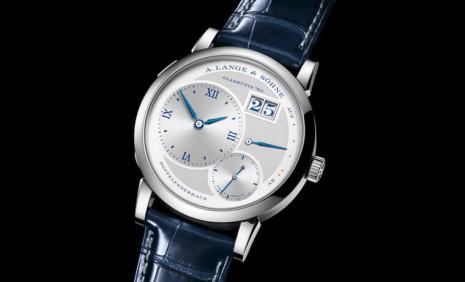 大日期德國錶的經典印象 朗格Lange 1 25週年紀念錶