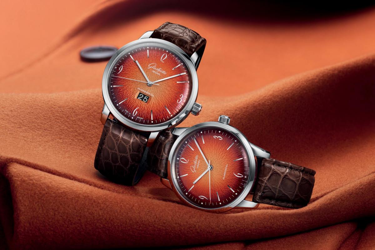 漸變橙色展現自家面盤廠的自製水準 格拉蘇蒂原創Sixties 六零年代系列