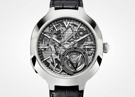 LV首見教堂式音簧問錶 路易威登Voyager Minute Repeater Flying Tourbillon