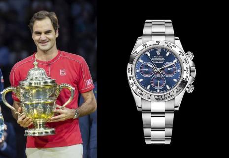 瑞士網球天王費德勒近年奪冠戴了哪些勞力士手錶