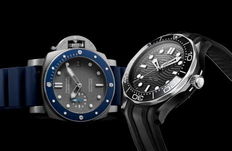 20萬陶瓷圈潛水錶推薦 歐米茄Seamaster和沛納海Submersible比較