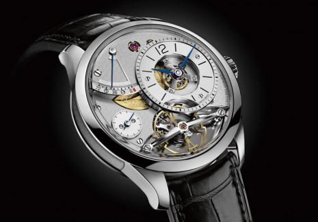 能放自然也要能收的製錶工藝 GREUBEL FORSEY Balancier Contemporain擺輪錶