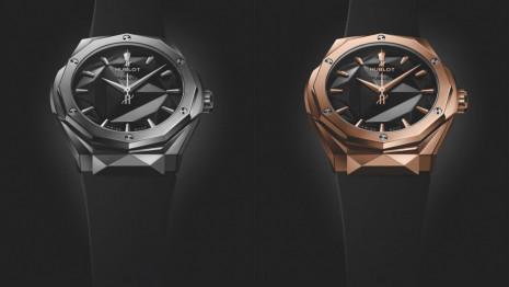 Basel 2019:面盤切面不是假象 宇舶經典融合系列Orlinski腕錶