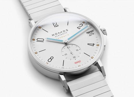 你沒見過的NOMOS運動風Tangente系列,包浩斯主義德國錶結合鋼製錶帶展現Man味